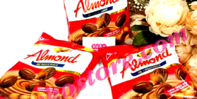 Kẹo Almond Chocolate UNITED 275g